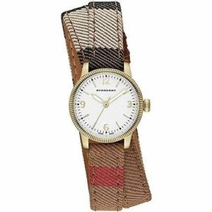 BURBERRY Utilitarian Check Canvas Ladies Watch